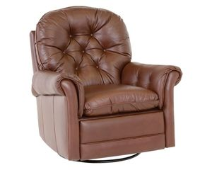 Thumbnail of Classic Leather - Crescent Swivel Glider Recliner