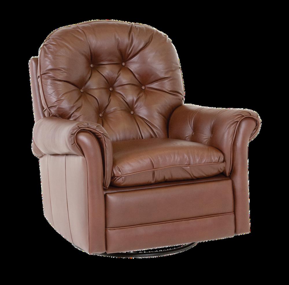 Classic Leather - Crescent Swivel Glider Recliner