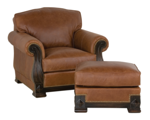 Thumbnail of Classic Leather - Edwards Ottoman