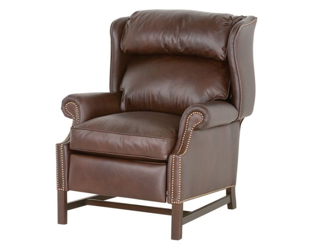 Classic Leather - Chippendale High Leg Recliner