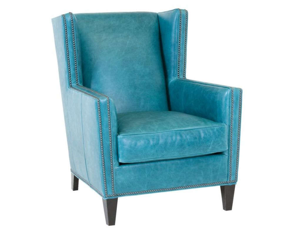 Classic Leather - Porter Wing Chair