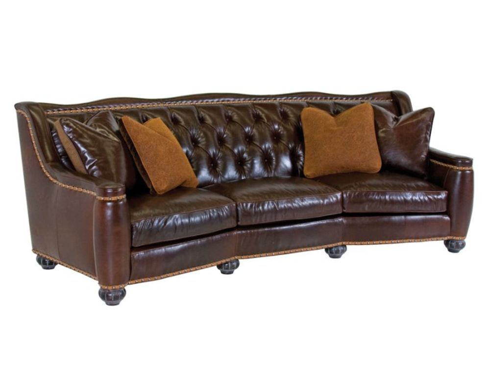 Classic Leather - Chelsea Tufted Sofa