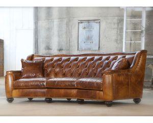 Thumbnail of Classic Leather - Chelsea Tufted Sofa