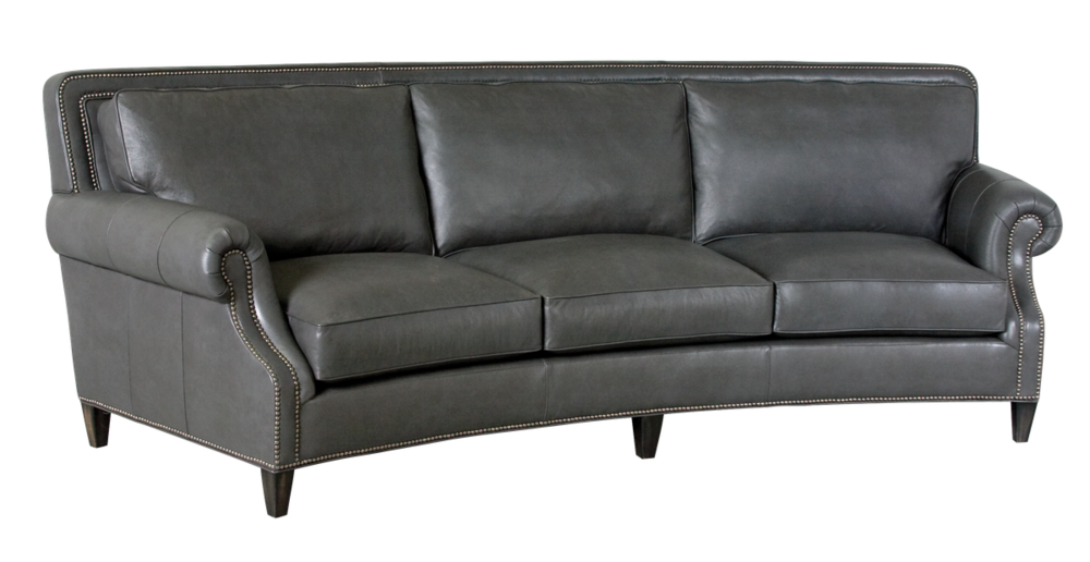 Classic Leather - Paxton Curved Sofa
