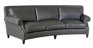 Thumbnail of Classic Leather - Paxton Curved Sofa