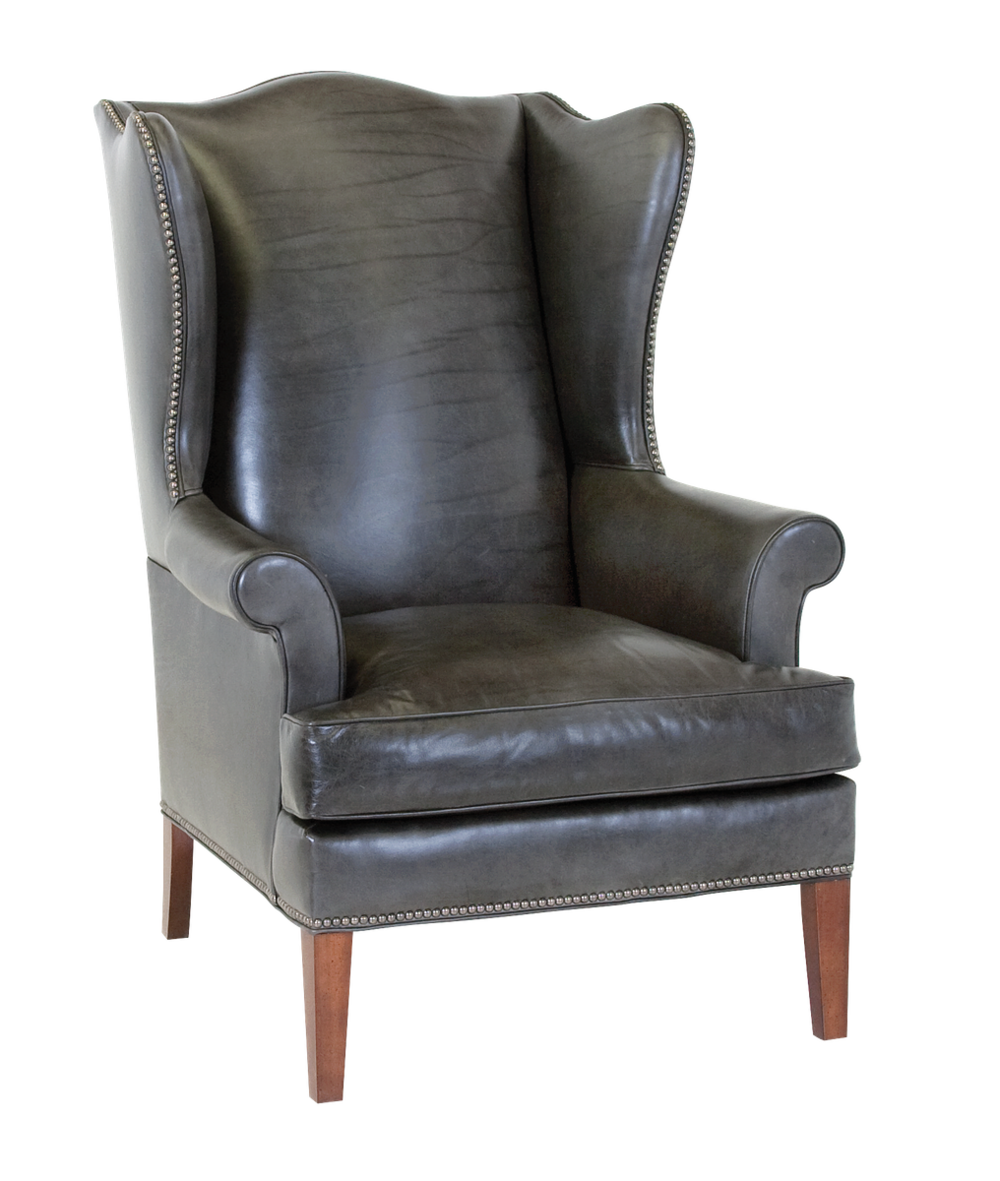 Classic Leather - Paige Wing Chair