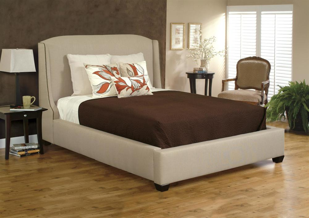HB Designs - Upholstered Bed