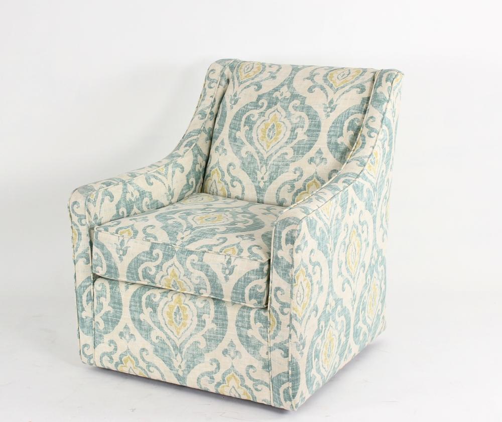HB Designs - Contemporary Swivel Club Chair