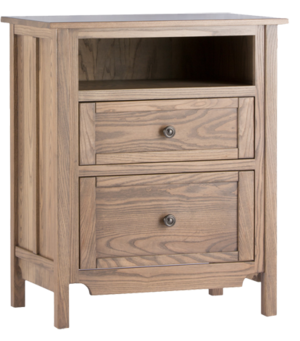 Thumbnail of Conrad Grebel - Two Drawer Night/TV Stand