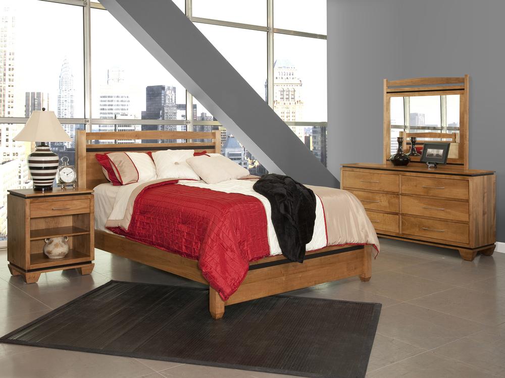 Conrad Grebel - Binghamton Queen Bed