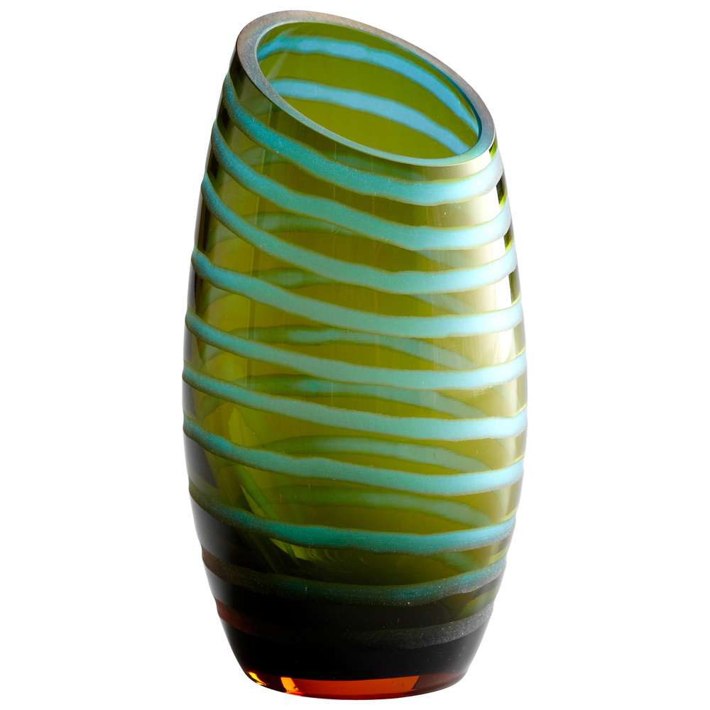 Cyan Designs - Large Angle Cut Chiseled Vase