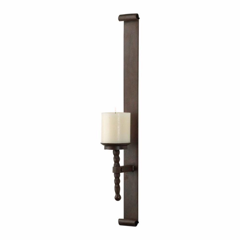 Cyan Designs - Tall Single Iron Wall Candleholder