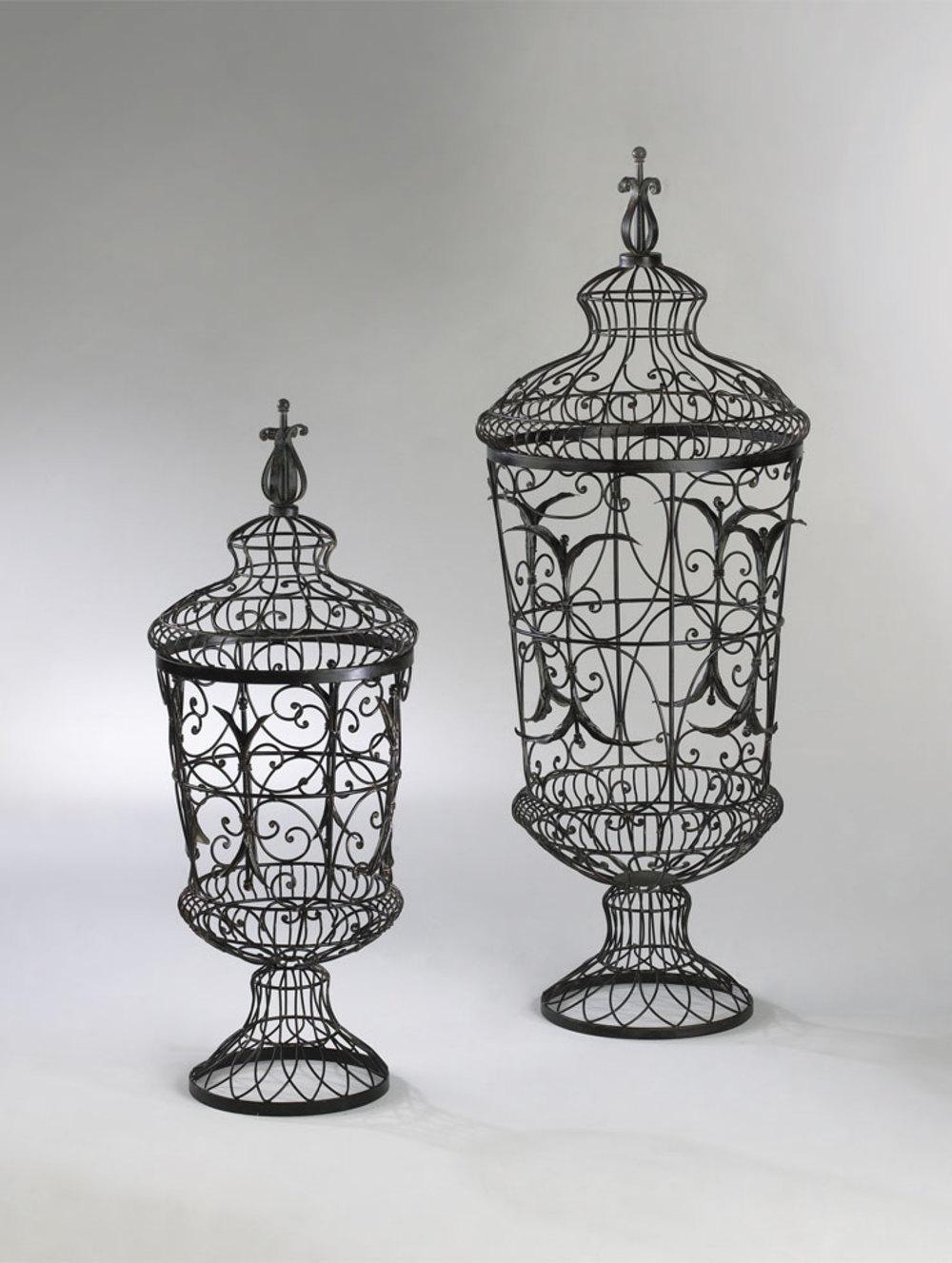 Cyan Designs - Brocade Urns, 2 piece