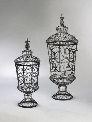Thumbnail of Cyan Designs - Brocade Urns, 2 piece