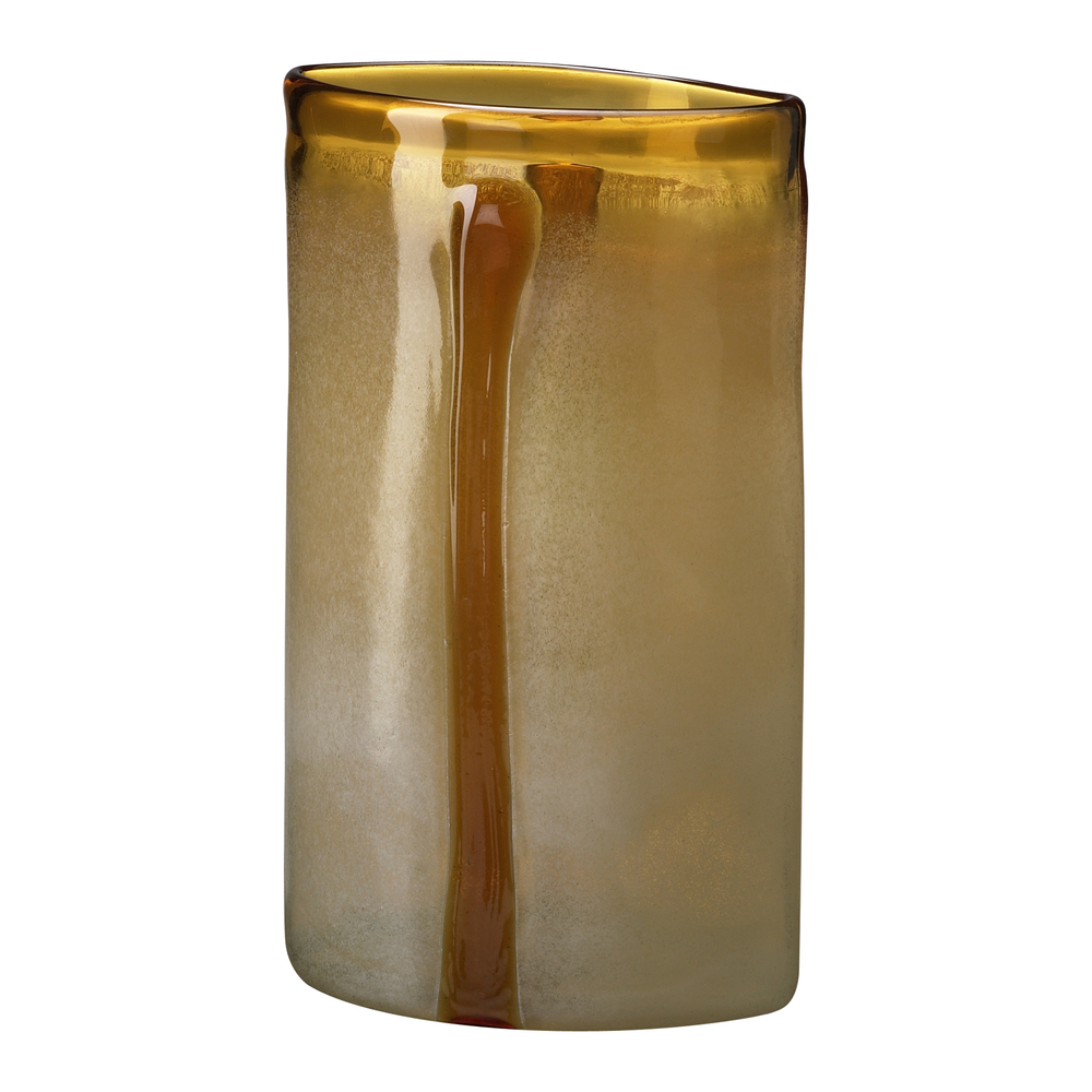 Cyan Designs - Large Cream and Cognac Vase