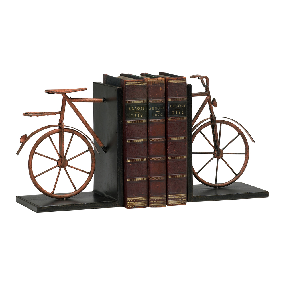 Cyan Designs - Bicycle Bookends