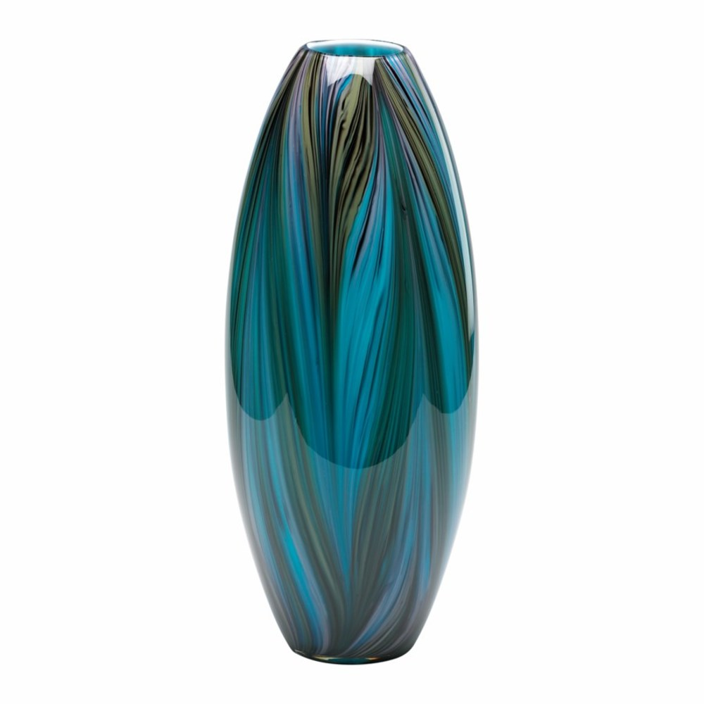 Cyan Designs - Peacock Feather Vase