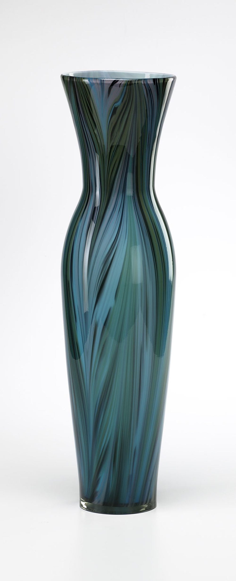 Cyan Designs - Tall Peacock Feather Vase