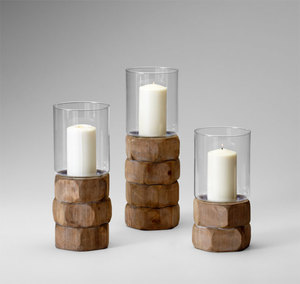 Thumbnail of Cyan Designs - Medium Hex Nut Candleholder