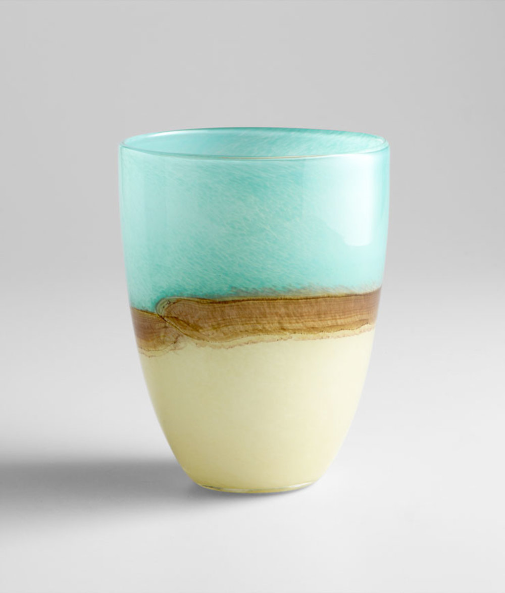 Cyan Designs - Medium Turquoise Earth Vase