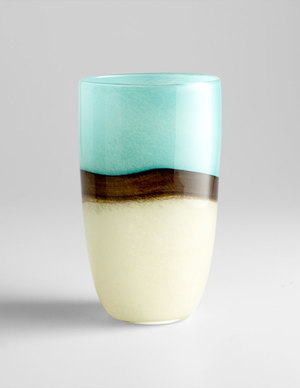 Thumbnail of Cyan Designs - Large Turquoise Earth Vase