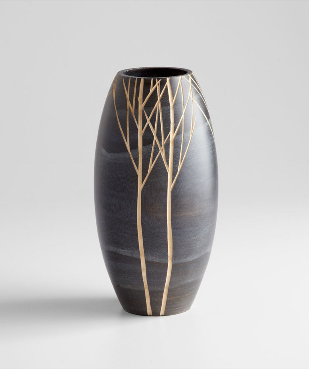 Cyan Designs - Small Onyx Winter Vase