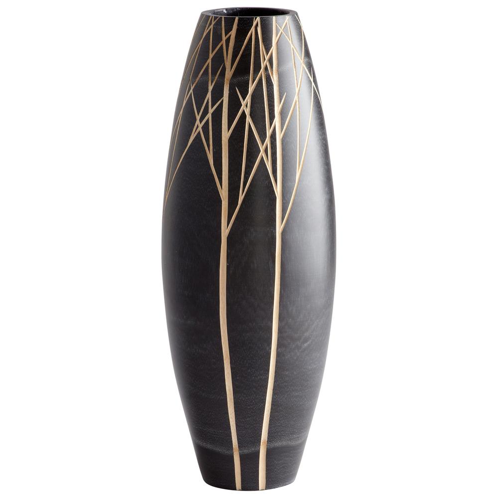 Cyan Designs - Large Onyx Winter Vase