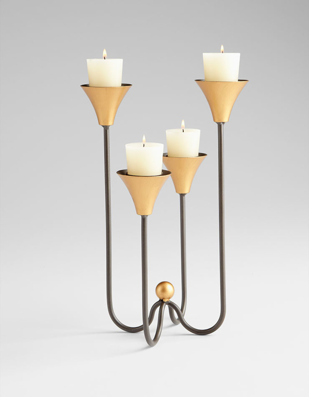 Cyan Designs - Small Bell Tower Candleholder