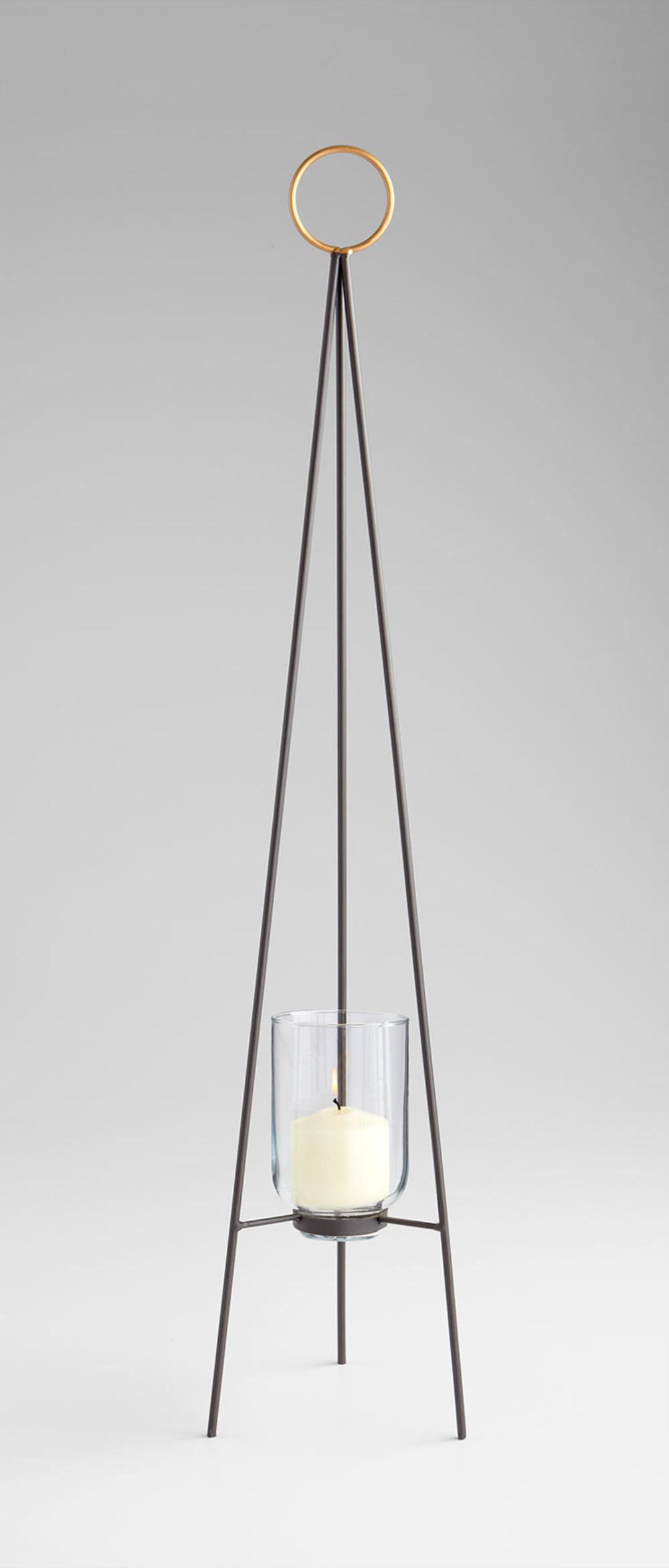 Cyan Designs - Medium Tripod Ring Candleholder
