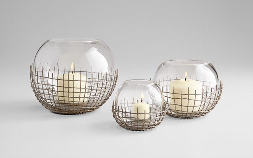 Cyan Designs - Medium Silk Candleholder