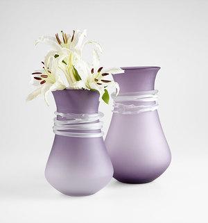 Thumbnail of Cyan Designs - Small Purple Rain Vase