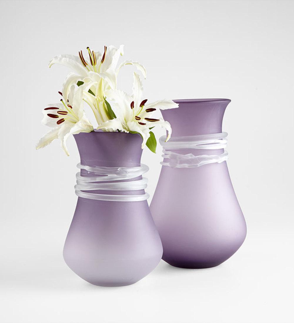 Cyan Designs - Large Purple Rain Vase