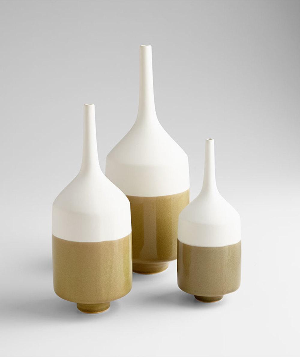 Cyan Designs - Large Groove Line Vase