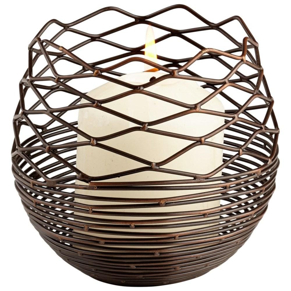 Cyan Designs - Small Coiled Silk Candleholder