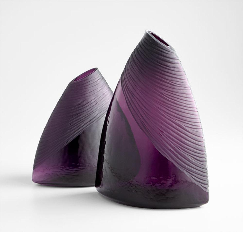 Cyan Designs - Small Mount Amethyst Vase