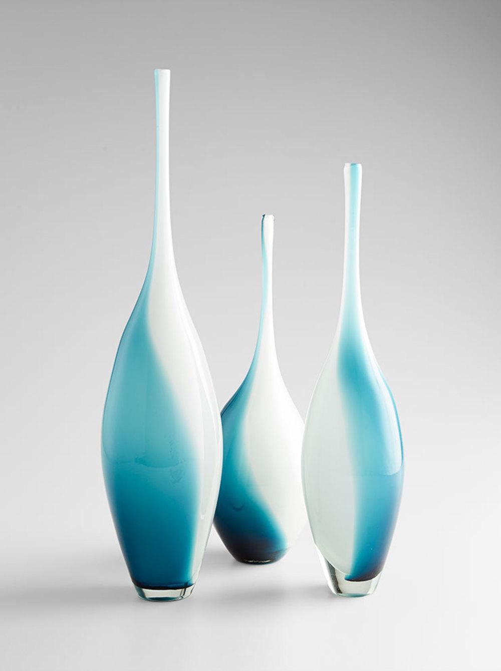 Cyan Designs - Small Swirly Vase