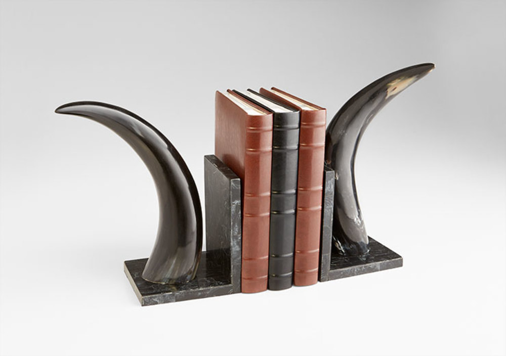 Cyan Designs - Horn Rimmed Bookends