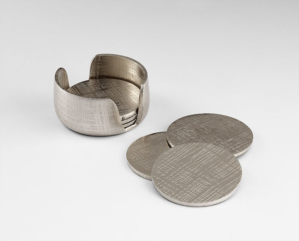 Cyan Designs - Nickel Coasters