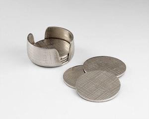 Thumbnail of Cyan Designs - Nickel Coasters
