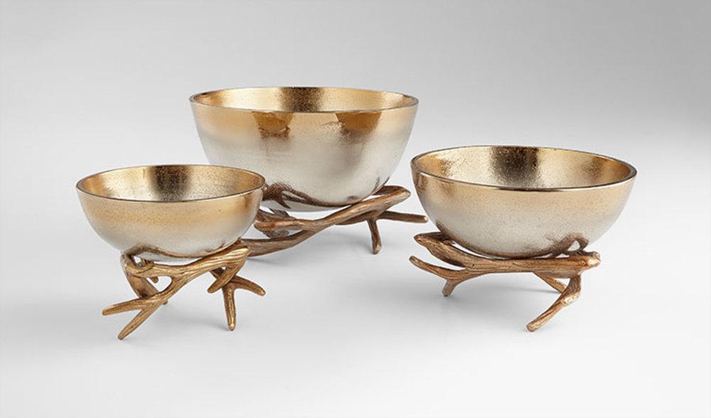 Cyan Designs - Small Antler Anchored Bowl