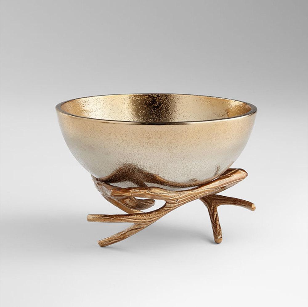 Cyan Designs - Medium Antler Anchored Bowl