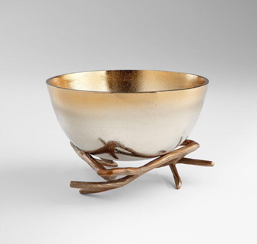 Cyan Designs - Large Antler Anchored Bowl