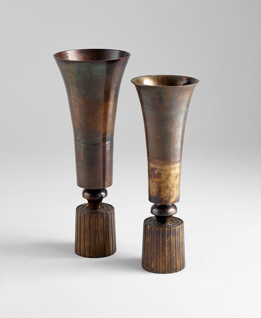 Cyan Designs - Large Patina Power Vase