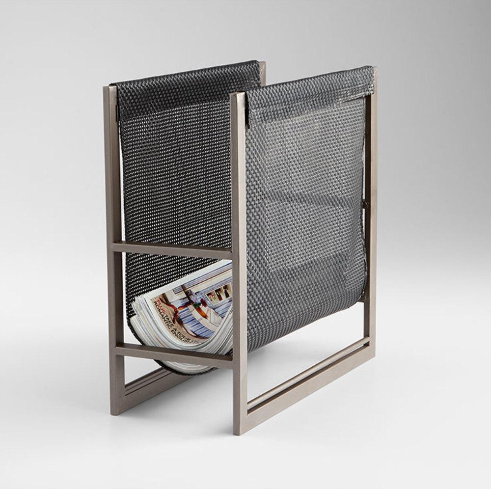 Cyan Designs - Mesh Magazine Rack