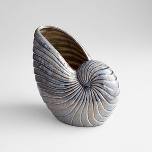 Thumbnail of CYAN DESIGN - Small Rippled Shell Vase