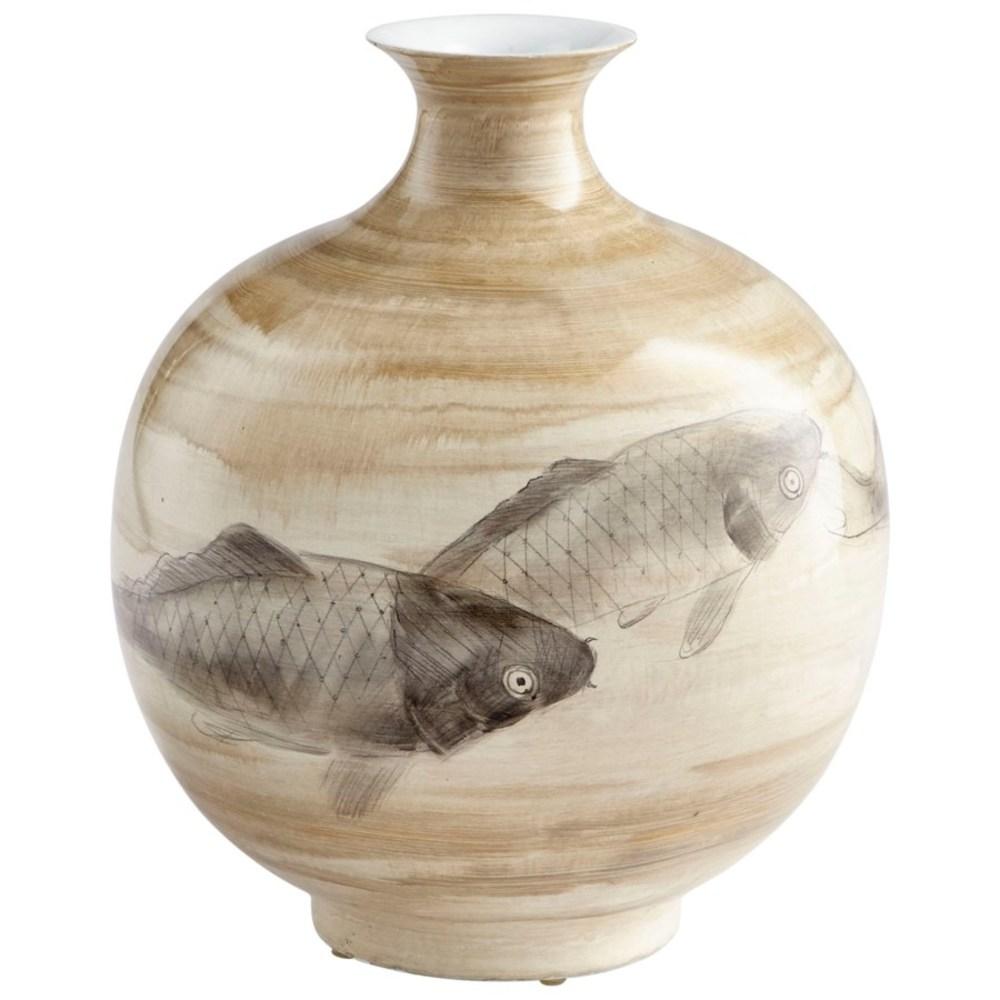 Cyan Designs - Small Swim a Circle Vase