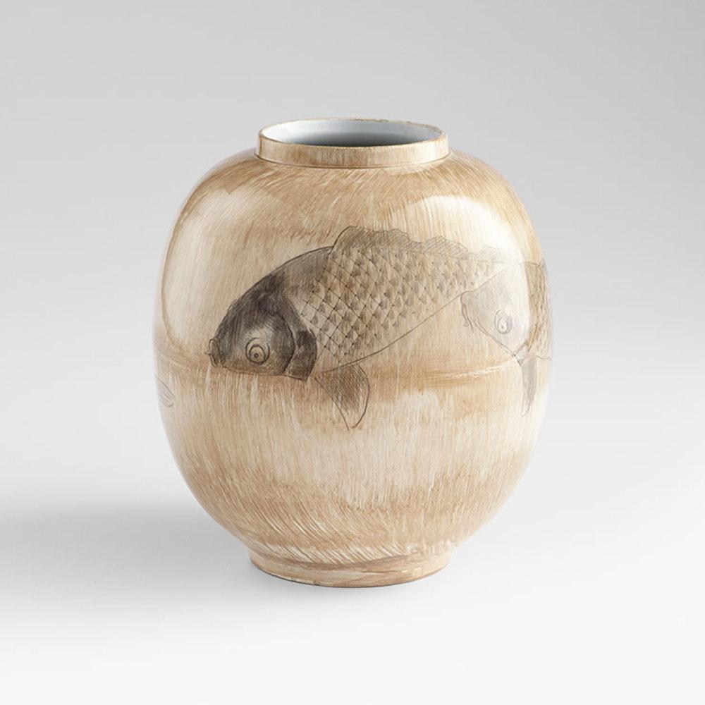 Cyan Designs - Large Swim a Circle Vase