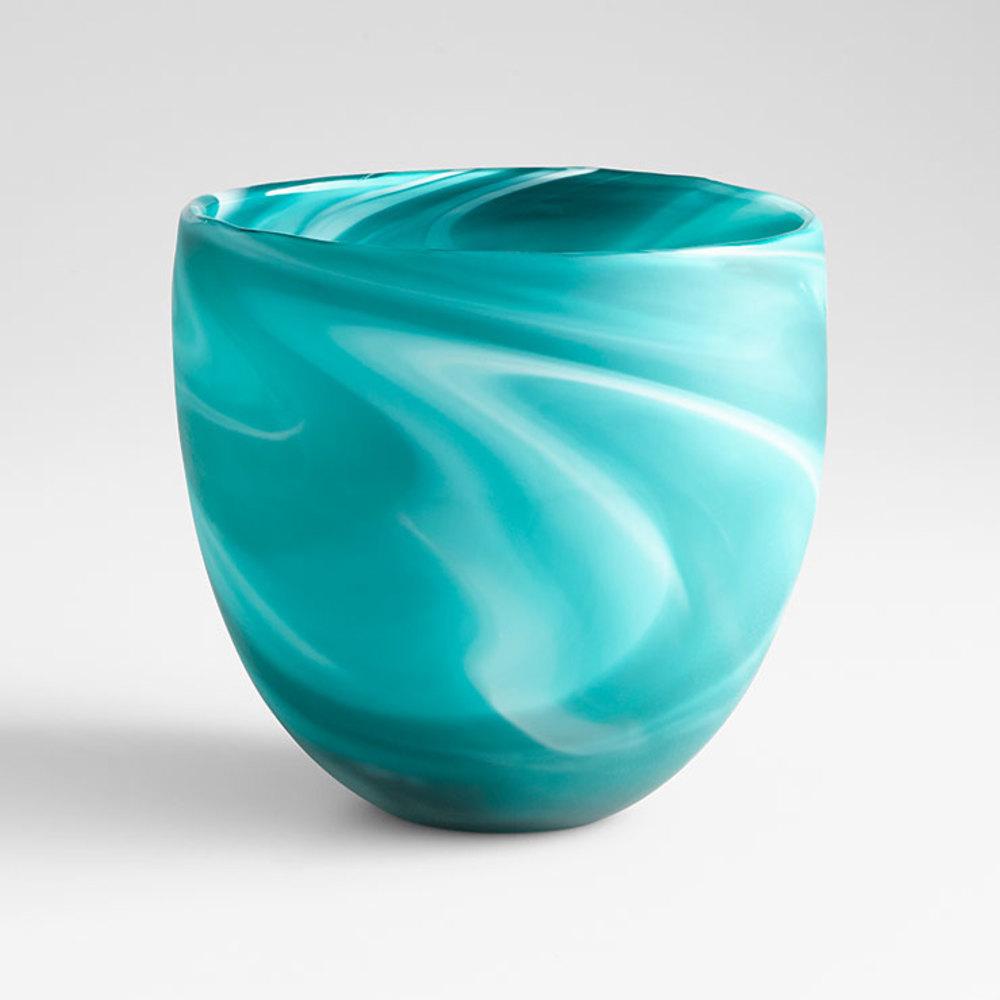Cyan Designs - Round Sea Swirl Vase