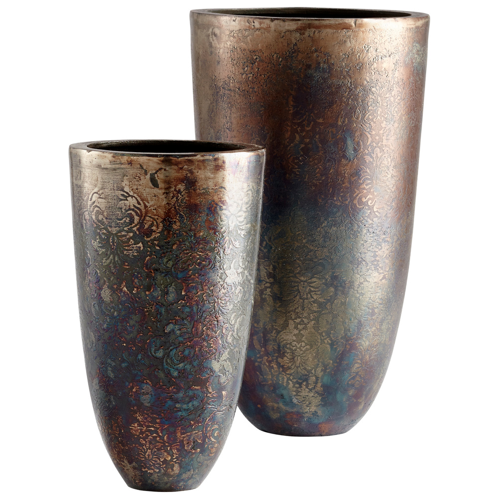 CYAN DESIGN - Inscription Vase