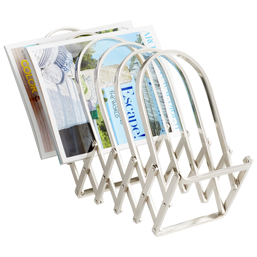Cyan Designs - Accordion Magazine Rack